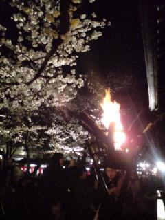 「奉納靖国神社夜桜能〜第二夜」終了