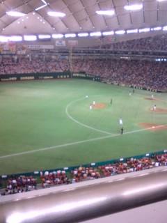 今年最初のプロ野球観戦