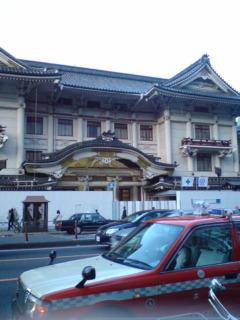 歌舞伎座、そして演舞場