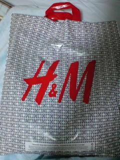 「H&M」で初めて買い物