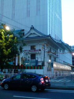 姿を現した、新しい歌舞伎座