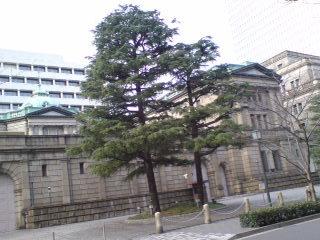 タイムスリップしたような「日本銀行本店」