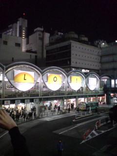 東急東横線の渋谷駅、いよいよ地下へ移動とあって。