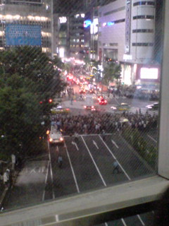 渋谷がタイヘン(苦笑)