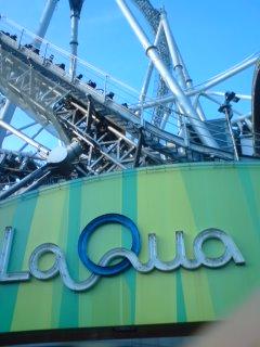 初めて「Spa LaQua」へ行く
