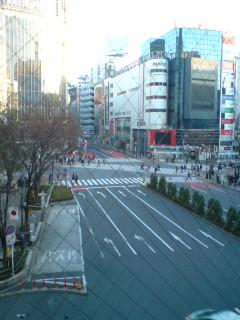 渋谷のスクランブル交差点の通行規制