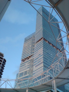 日本一高い商業ビルだったか(笑)