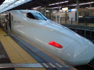 初めて「鹿児島中央」行き新幹線に乗る