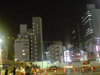 変わる渋谷西口の風景