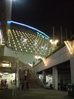 東京ドームで野球を見る