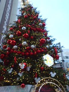 東急のクリスマス