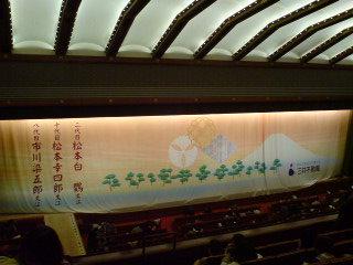 「壽初春大歌舞伎〜高麗屋三代襲名披露興業」(夜の部の一部)を観る
